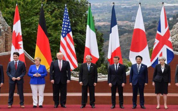 I GRANDI DELLA TERRA A TAORMINA, COMINCIATO IL G7