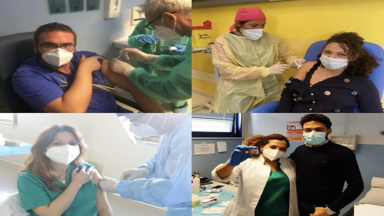 In provincia vaccinati oltre 1000 sanitari in tre giorni