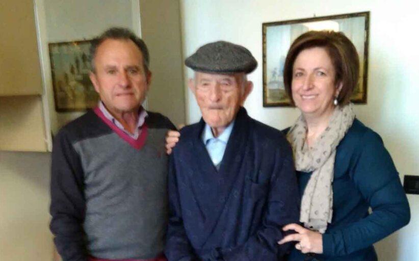 Oggi il caltabellottese Nino Turturici compie 109 anni. E' il più