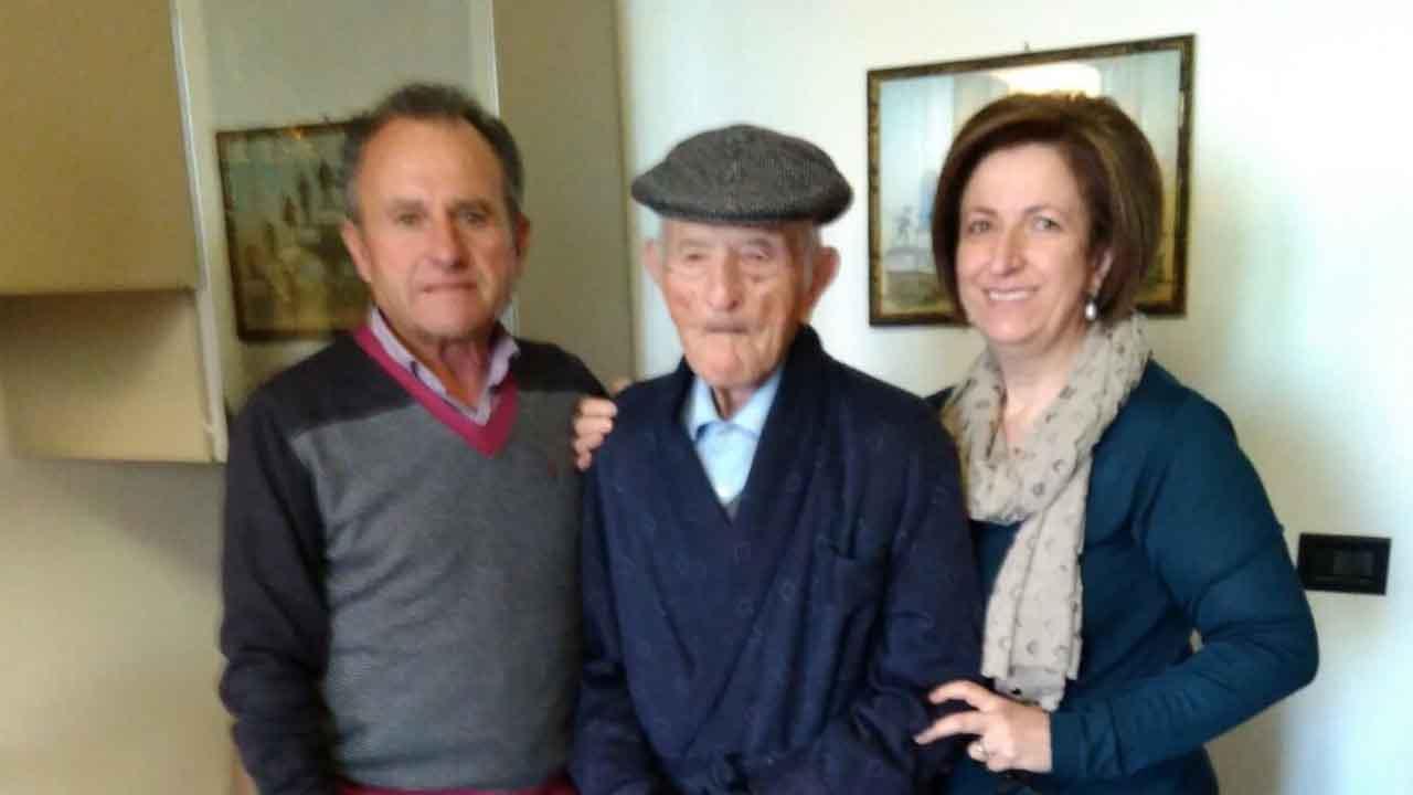 Si è spento a 109 anni il caltabellottese Antonio Turturici, il più anziano d'Italia