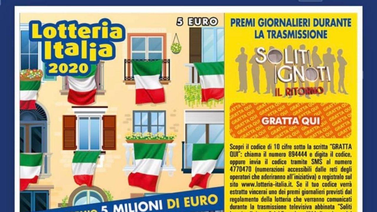 Lotteria Italia: 2 milioni a Prizzi
