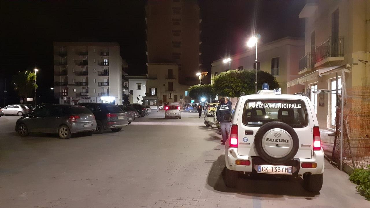 In piazza Rossi stasera un presidio della Polizia municipale