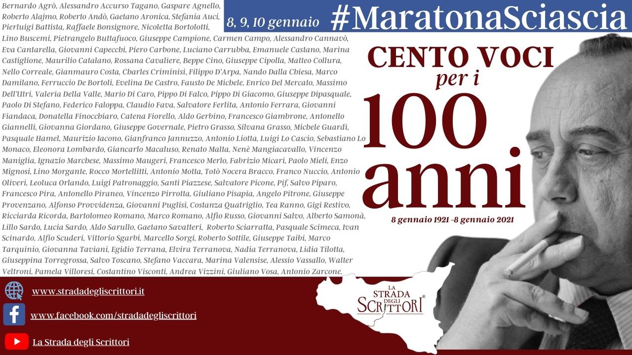 Cento voci per i cento anni di Leonardo Sciascia: una nuova iniziativa della Strada degli Scrittori