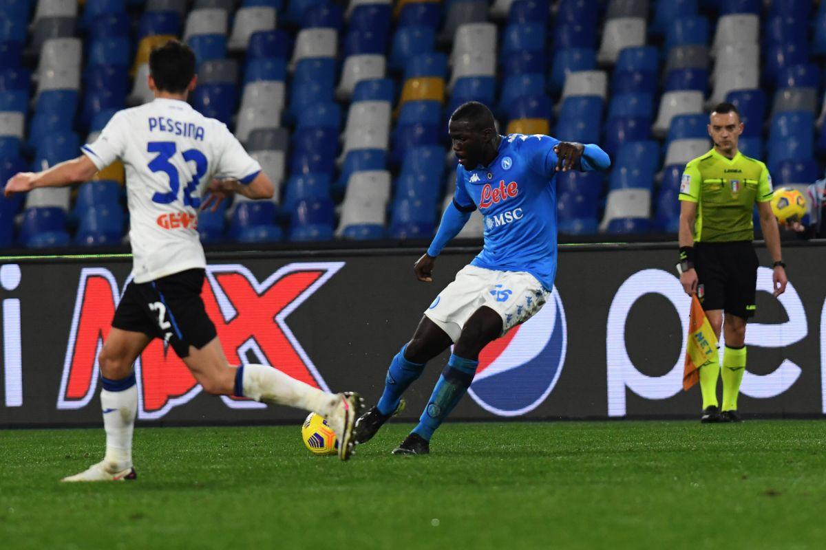 Semifinale andata Coppa Italia, Napoli-Atalanta senza reti