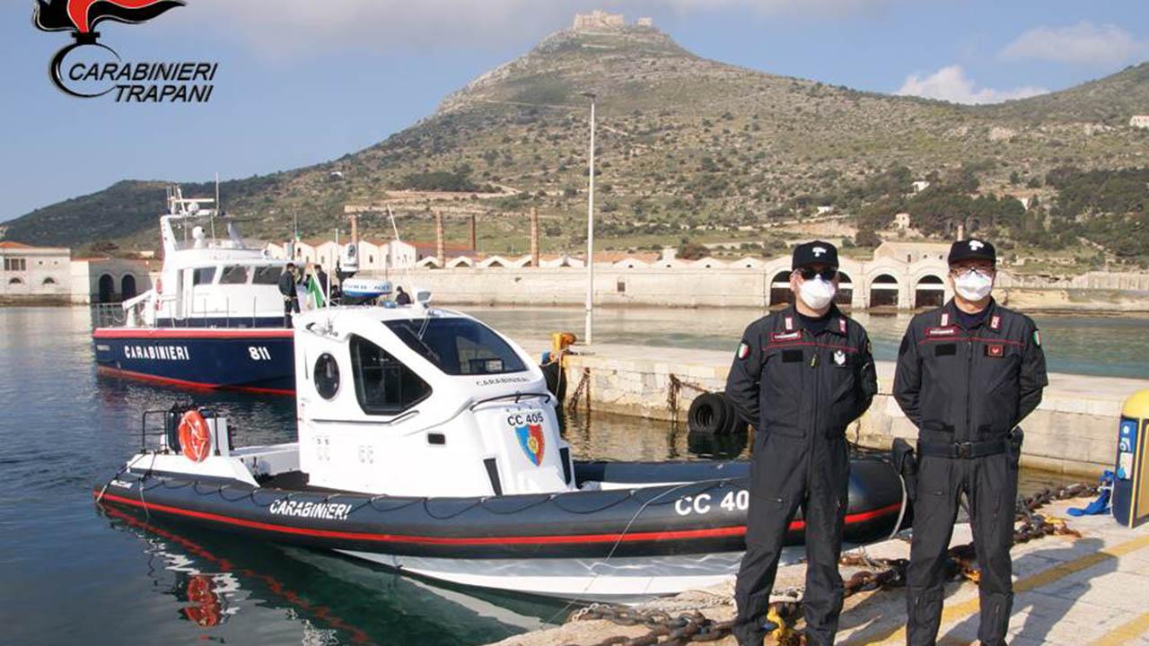 Favignana, arrestata 44enne per detenzione di munizionamento da guerra e droga