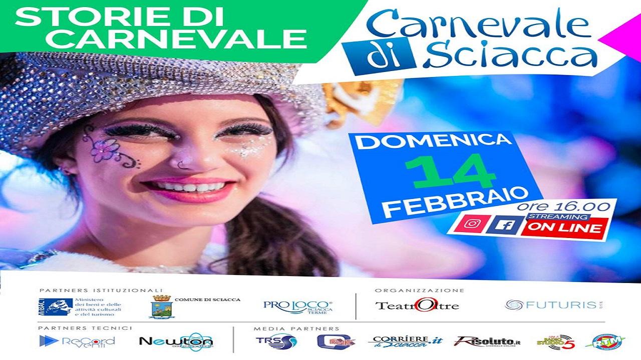 Il carnevale va online. Gli appuntamenti nei siti web eTv.  Sul profilo Facebook del Corrieredisciacca domenica dalle ore 16