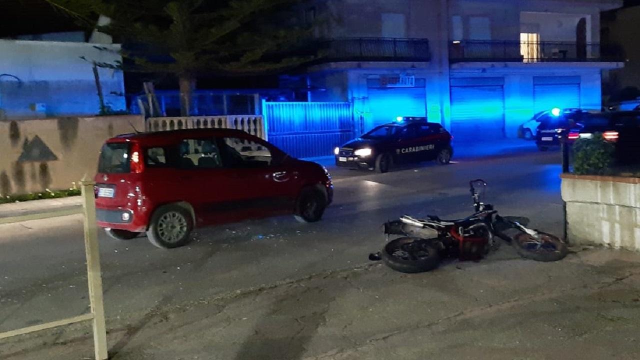 Incidente stradale in corso Miraglia