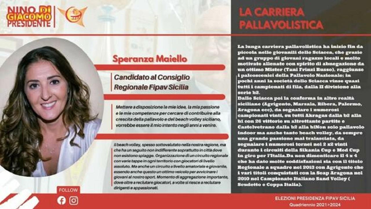 Elezioni Fipav Sicilia, una saccense candidata al consiglio regionale