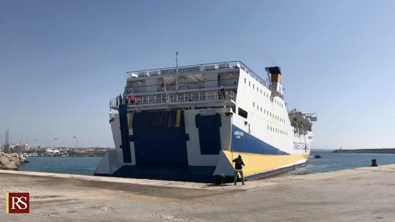 Collegamenti marittimi: a breve riattivazione della nave Mazara-Pantelleria