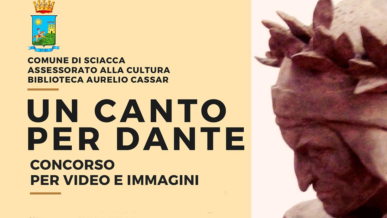 Un canto per Dante, un concorso per video e immagini della biblioteca Cassar