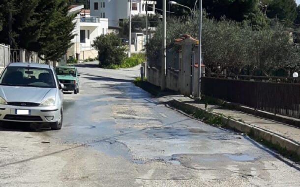 Perdite idriche, proteste in via degli Aranci