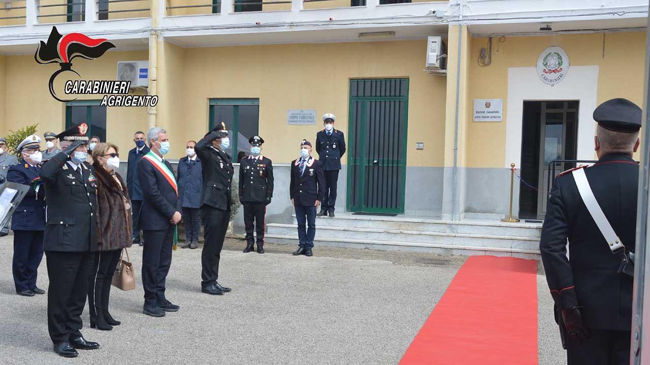 A Santo Stefano Quisquina inaugurata la nuova Stazione dei carabinieri