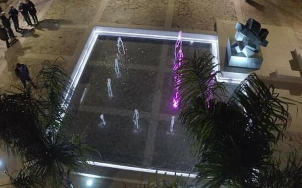 Montevago, inaugurata dopo il restyling la fontana con la scultura di Giò Pomodoro <font color=