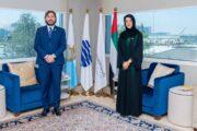 San Marino, Pedini Amati incontra ministro Sviluppo Economico Dubai