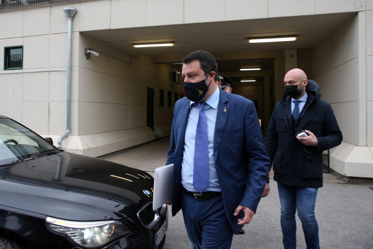 Open Arms, Salvini rinviato a giudizio a Palermo