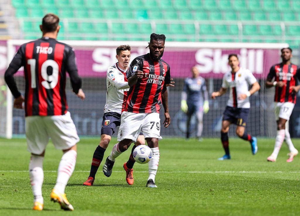 Il Milan torna a vincere a San Siro, 2-1 al Genoa