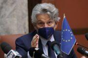 """Breton """"a rischio rinnovo contratto Ue con AstraZeneca"""""""