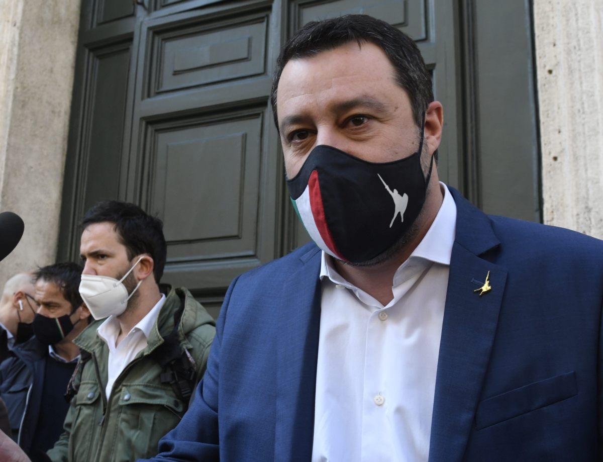 """Salvini """"Nel prossimo Cdm proporremo il coprifuoco alle 23"""""""