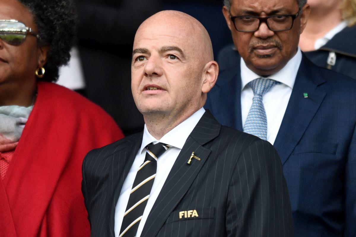 """Infantino """"Fifa disapprova la Superlega, spero si sistemi tutto"""""""