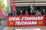 Ideal Standard, a Milano manifestazione di lavoratori e sindacati