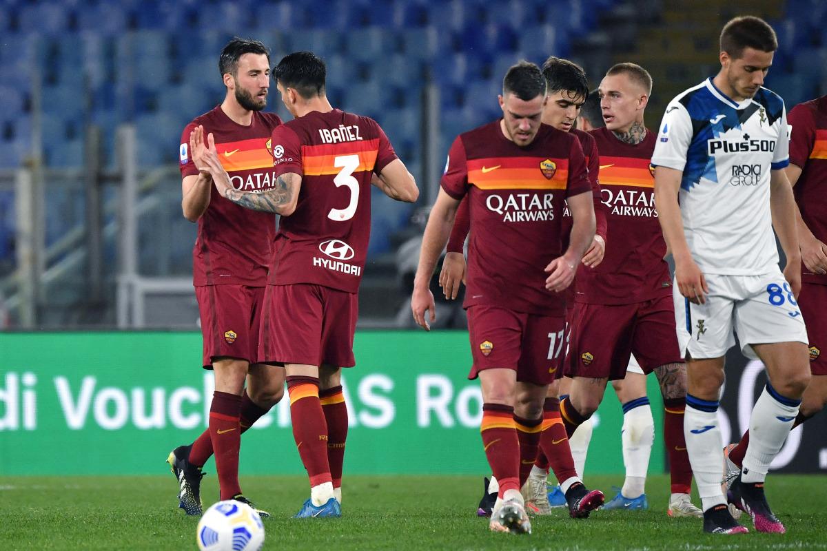 Roma-Atalanta 1-1, Cristante risponde a Malinovskyi