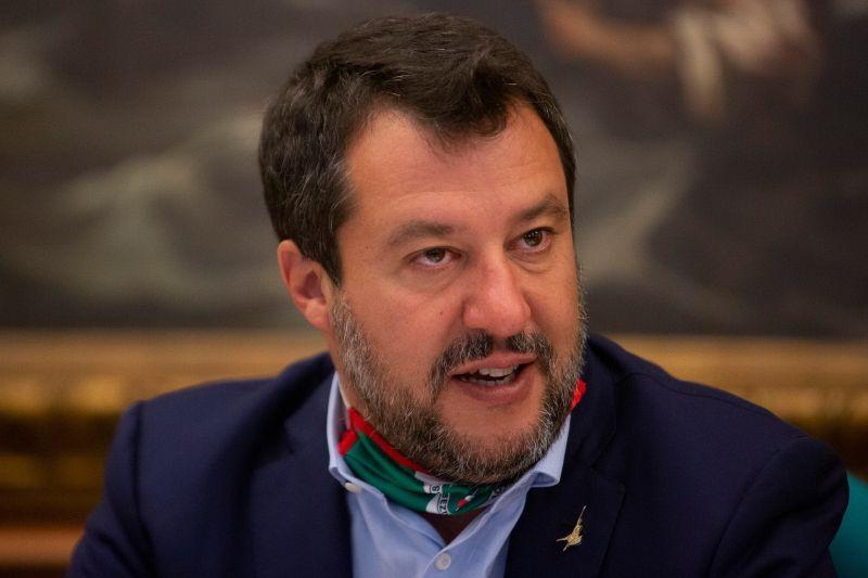 """Governo, Salvini """"Sostegno a Draghi, non abboccheremo a provocazioni"""""""