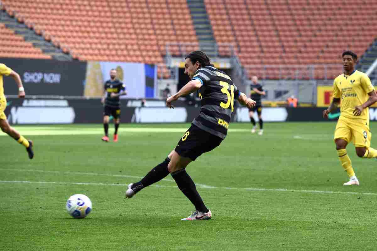 L'Inter batte il Verona di misura, decide Darmian