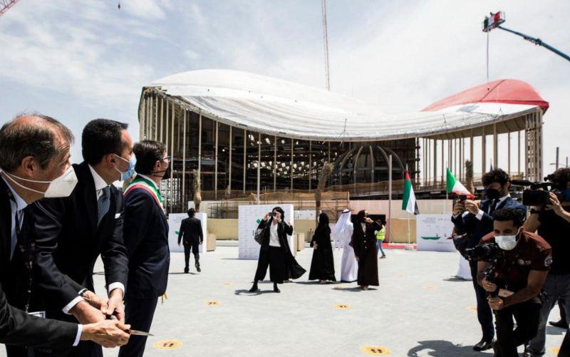 """Expo Dubai, Di Maio """"Padiglione Italia esempio di sostenibilità"""""""