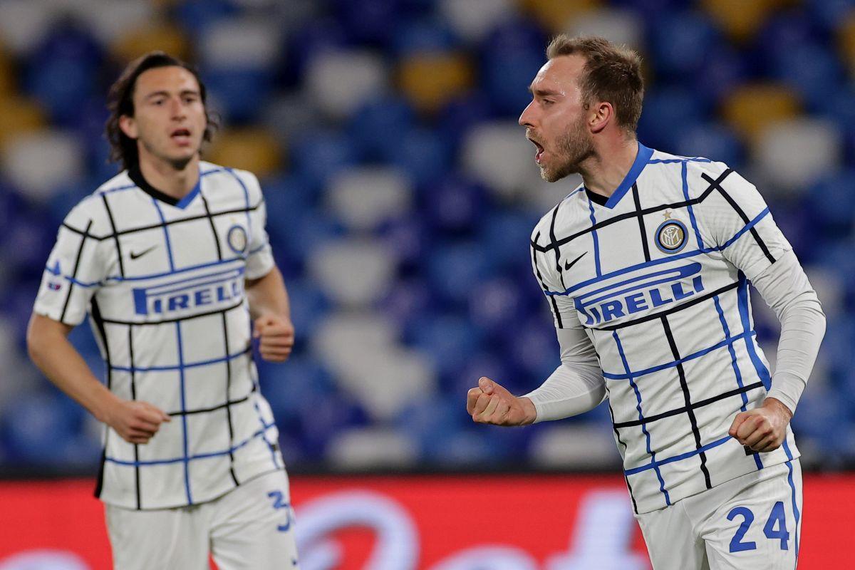 L'Inter fermata sull'1-1 dal Napoli, ora a +9 sul Milan