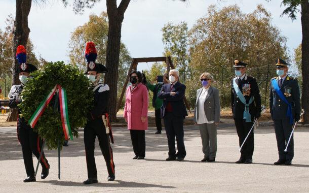 Celebrata la cerimonia del 76° anniversario della Liberazione d'Italia