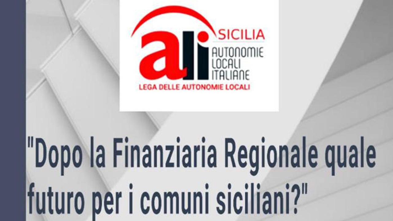 I comuni siciliani sempre più nel baratro: chiedono norme certe e finanziarie
