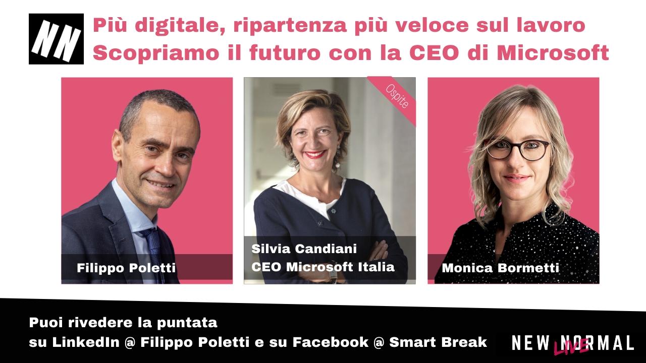 """Smart working, Candiani (Microsoft): """"Il futuro del lavoro è ibrido"""""""