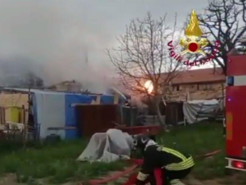 Esplosione in fabbricato a Gubbio, un morto