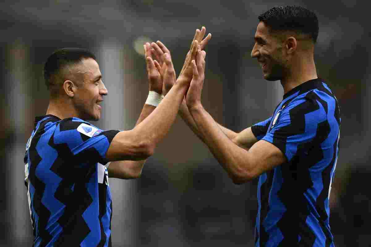 Passerella e goleada per l'Inter, 5-1 alla Samp