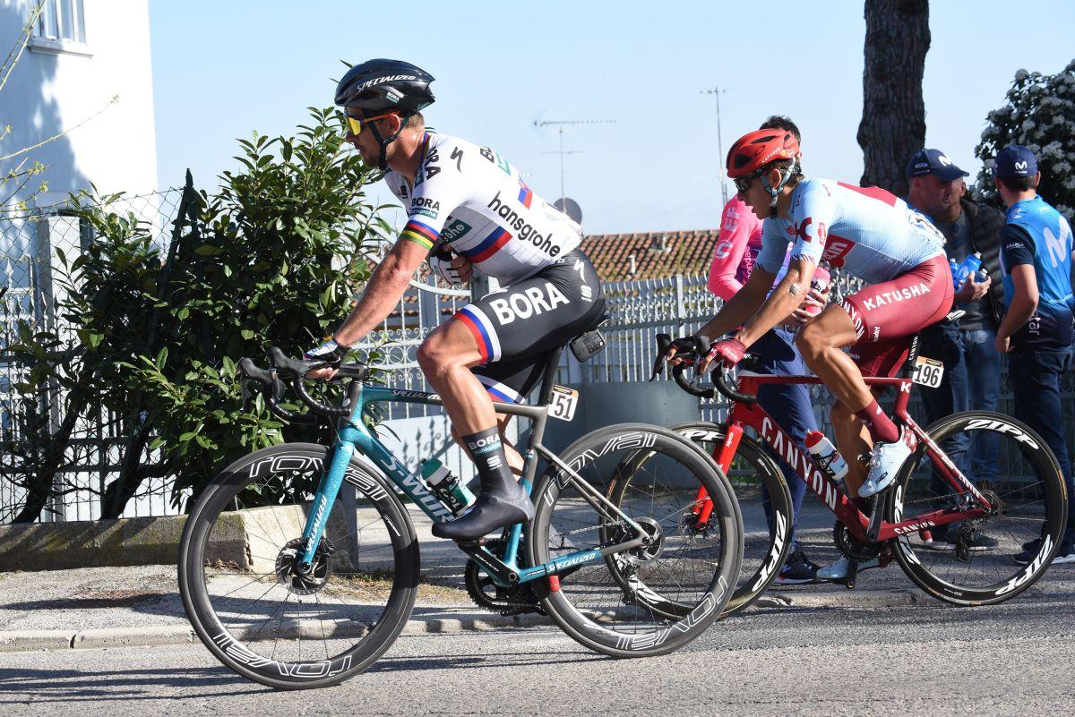 Sagan vince la 10^ tappa del Giro, Bernal resta in rosa