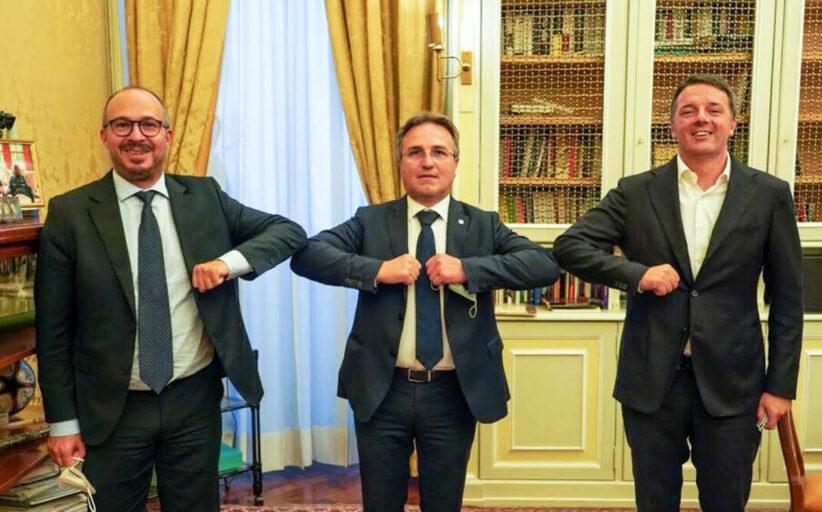 Il sindaco di Sambuca di Sicilia, Meo Ciaccio, aderisce a Italia Viva