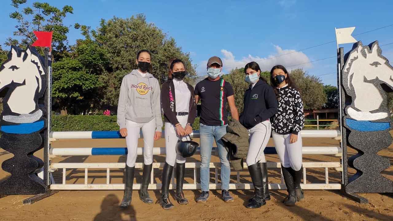 Ippica, campionati progetto sport: le amazzoni della