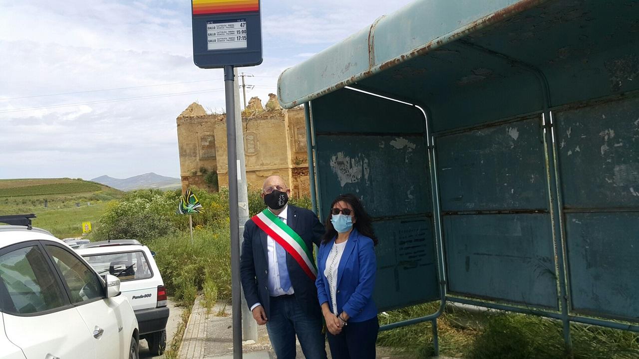 Trasporti, a Santa Margherita Belice installata palina intelligente