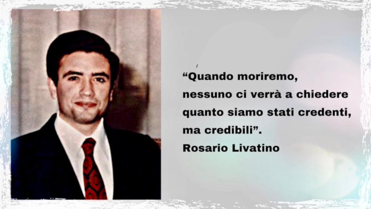 Domani la beatificazione di Rosario Livatino