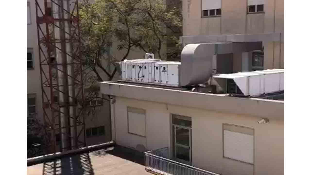 Ospedale, impianto trattamento dell'aria rumoroso. Residenti chiedono attenuazione acustica