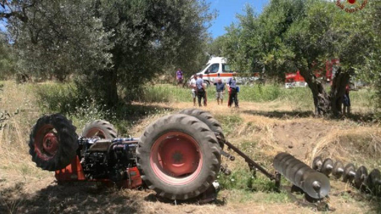 Incidente sul lavoro nelle campagne di Menfi. Agricoltore travolto da trattore