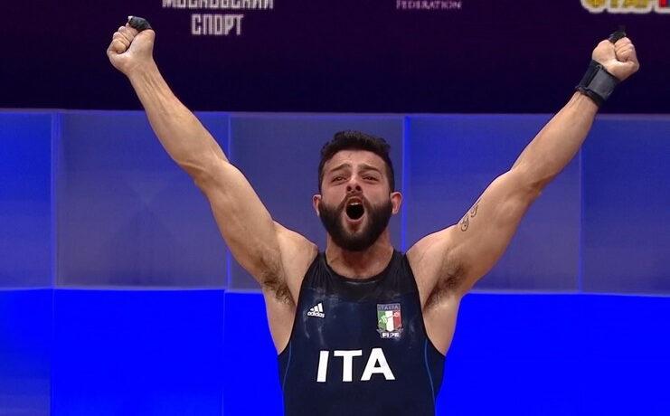 Pesi, quattro azzurri alle Olimpiadi di Tokyo