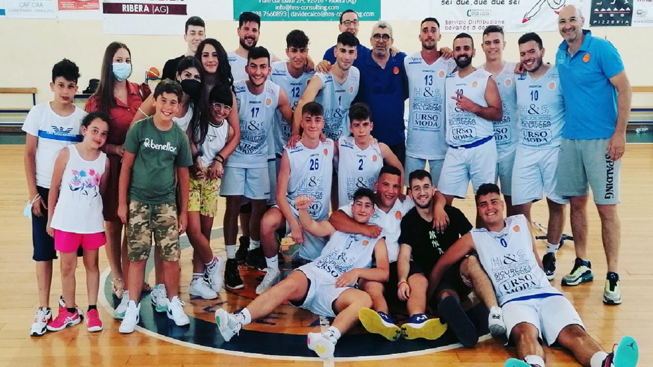 Basket Ribera chiude torneo di Promozione al secondo posto