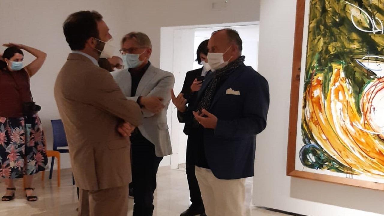 Ambasciatore tedesco in Italia in visita a Gibellina