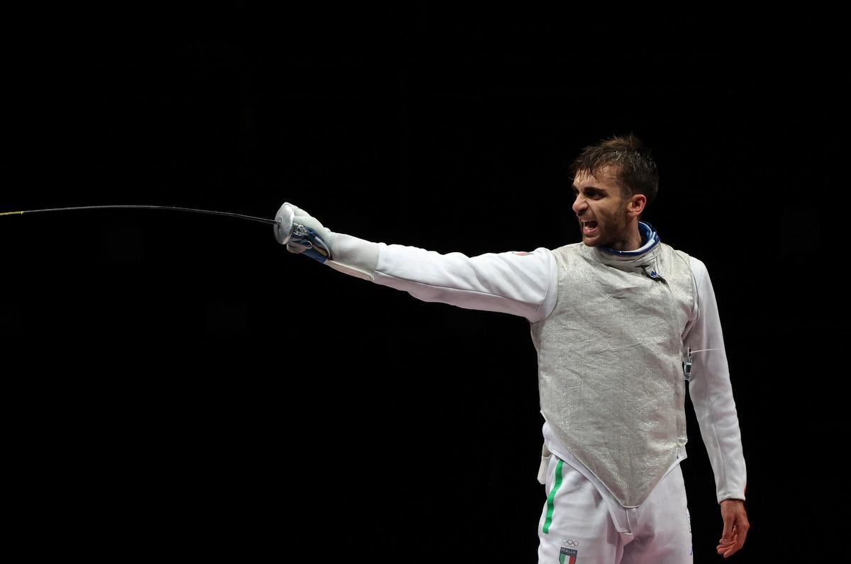 Olimpiadi, il siciliano Daniele Garozzo argento nel fioretto