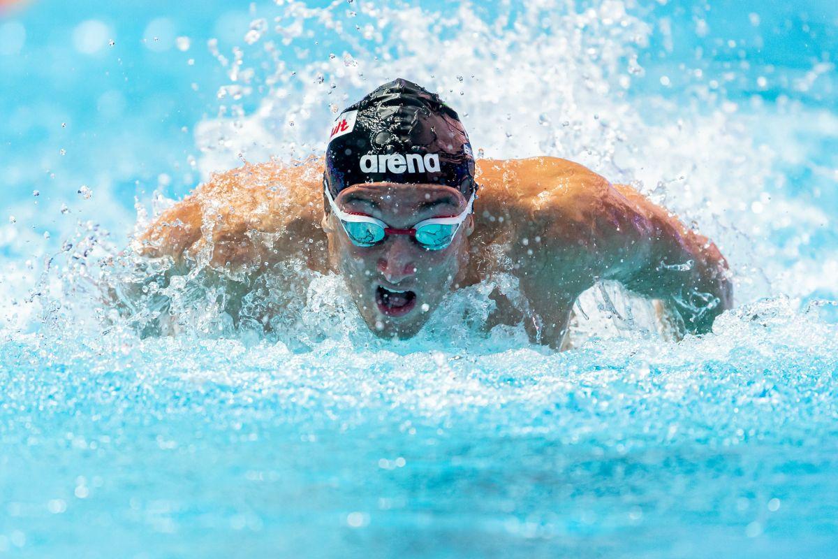 Federico Burdisso vince il bronzo nei 200 farfalla