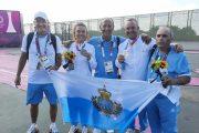 Tiro a volo mixed team, argento San Marino con Perilli-Berti
