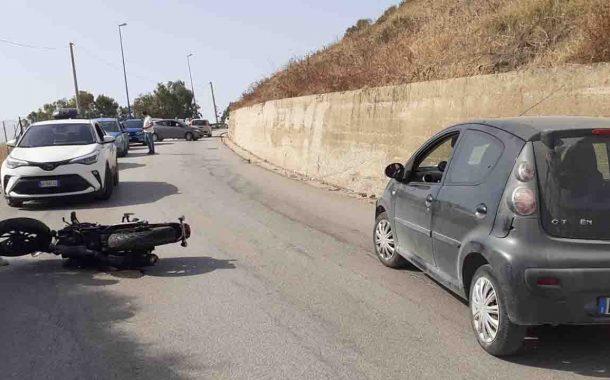 San Marco, auto contro moto: ferito giovane centauro