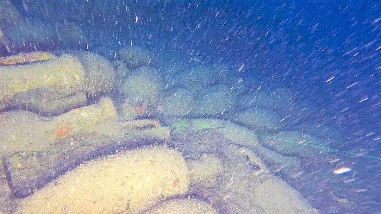 Isola delle Femmine, ritrovata una nave romana a 92 metri di profondità <font color=