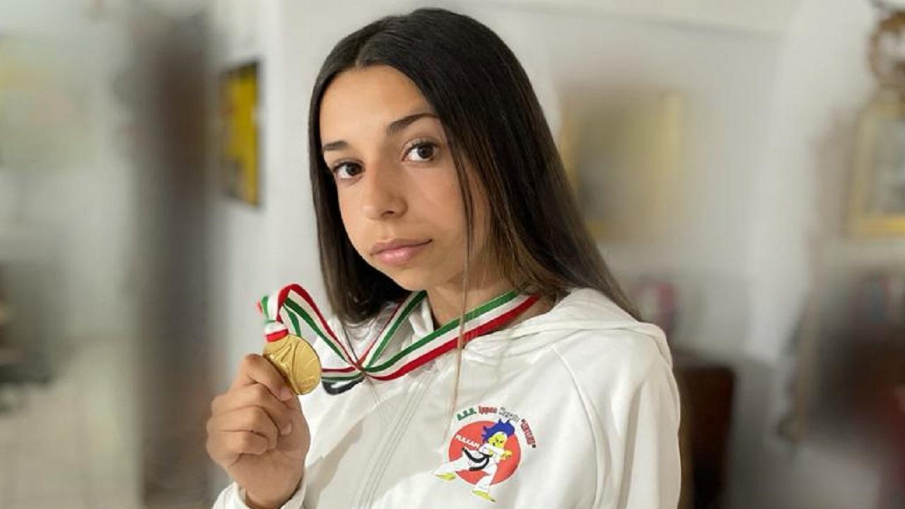 Karate, Emma Colletti della Ippon Lentini nella Nazionale Cadetti